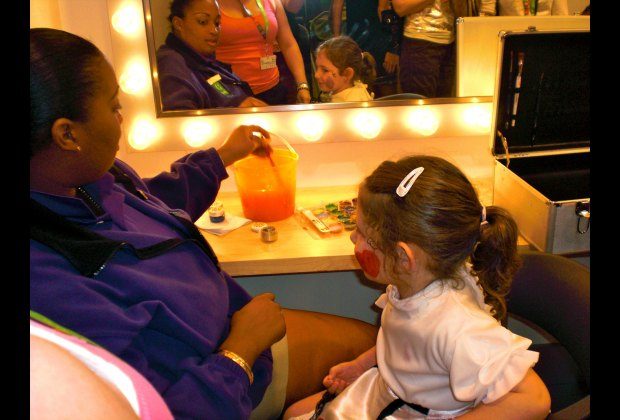 "Have your ""make-up"" done and then on to the photo shoot at Kids Adventures"
