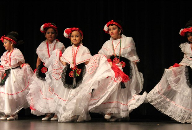 Celebrate Mexican culture through dance with Ballet Folklórico./Photo courtesy of the Children's Museum of Houston.