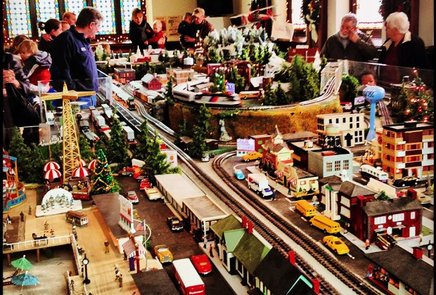 Check out the impressive Holiday Model Train Show. Photo courtesy of Barron Arts Center