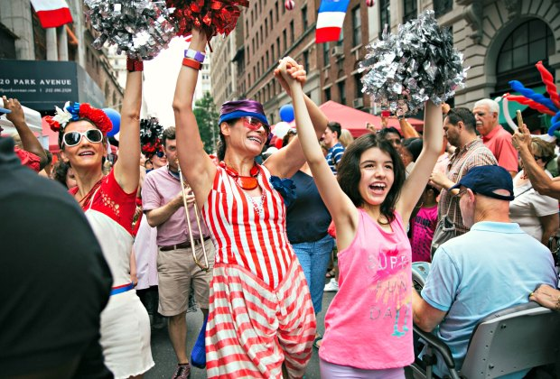 Bastille Day brings music, food, and family fun to the streets of NYC. Photo by Michael George