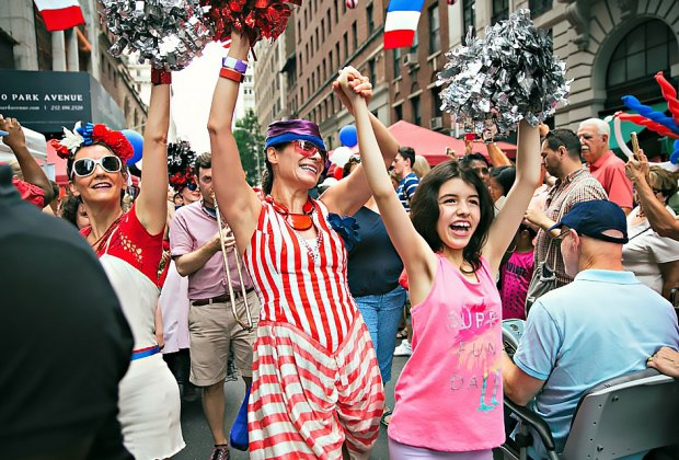 Bastille Day remains a symbol of liberty worldwide so join the party on East 60th Street!  Photo by Michael George
