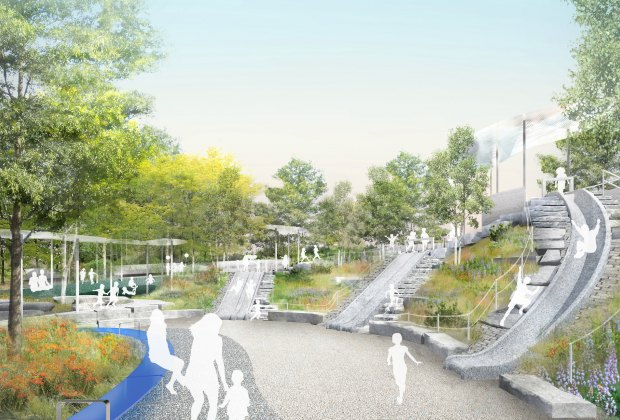 The Battery Playscape is set to debut in late-summer 2021
