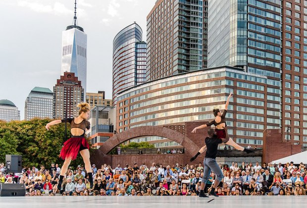 Check out NYC's longest-running free public dance festival, the 38th Annual Battery Dance Festival! Photo courtesy of the festival