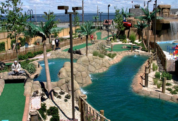 Bayville Adventure Park, on Long Island Sound, offers exciting attractions for the whole family. Photo courtesy of the park