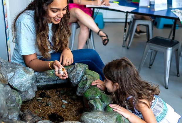 Celebrate mother nature and the outdoors with a full day of hands-on activities. Photo for BBP by Iris Yee