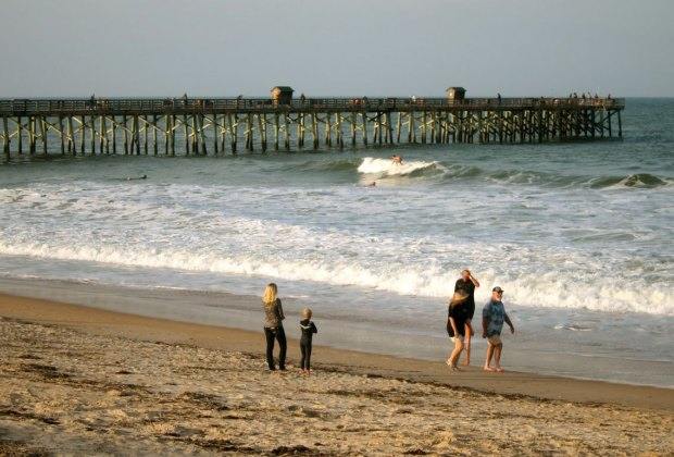 Surfing and fun in Flagler Beach