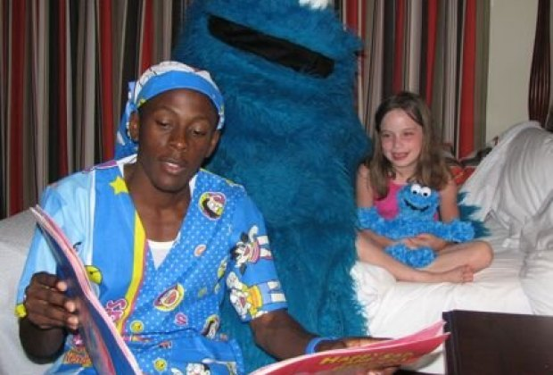 Get tucked in by Cookie Monster at Beaches Resorts