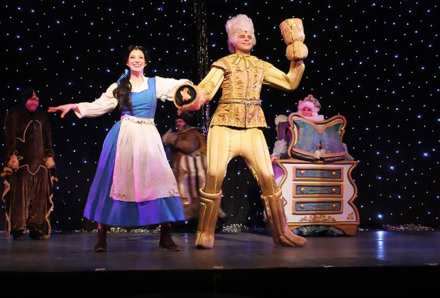 The beloved Disney classic Beauty and the Beast comes to life on stage at the White Plains Performing Arts Center. Photo courtesy of the theater