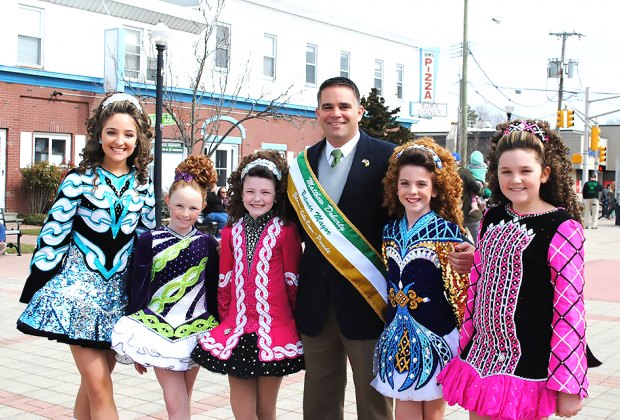 Head to the Belmar St. Patrick's Day Parade for a bit of Irish fun! Photo courtesy of the the Official Belmar Lake Como St. Patrick's Day Parade