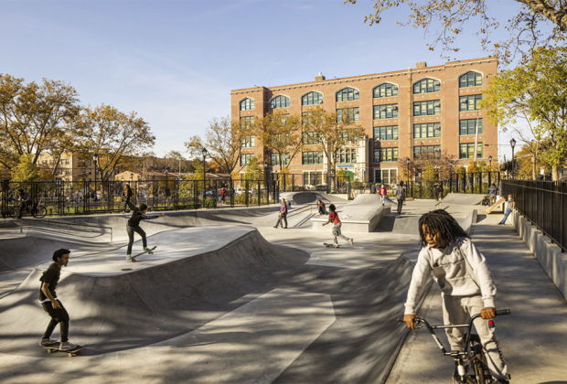 skate area in betsy head park
