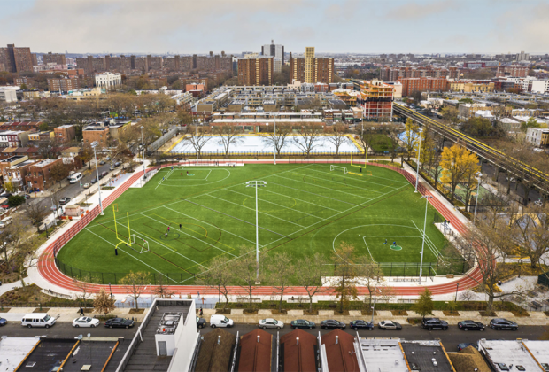 overview betsy head park turf field
