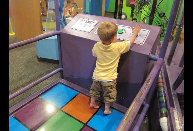 Interactive Exhibit for Toddlers at the Betty Brinn