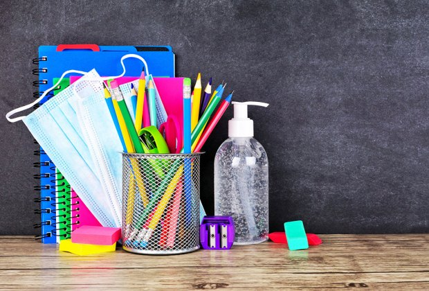 Essential School Supplies For Whatever This Year Brings Us Mommypoppins Things To Do With Kids