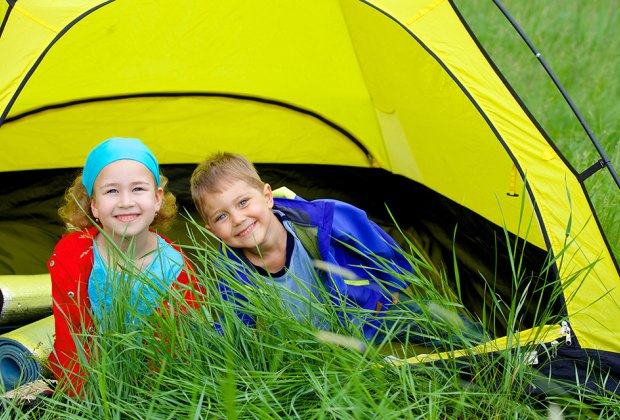 Introduce the kids to the joy of camping at sites with kid-friendly amenities.