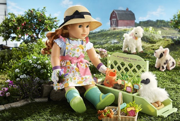 "Blaire Wilson, American Girl's 2019 ""Girl of the Year,"" lives on a farm in the Hudson Valley."