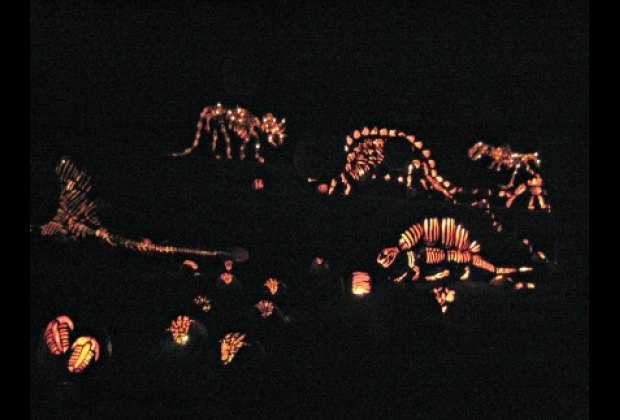 The Great Jack O' Lantern Blaze in Historic Hudson Valley is the perfect seasonal day trip