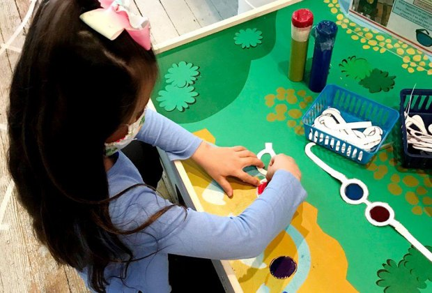 The entire family benefits from private playtime at the Long Island Explorium