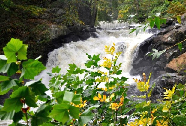 """Boonton's """"Little Niagara"""" is an easily accessible waterfall in Grace Lord Park. Photo courtesy of  Boonton, NJ"""