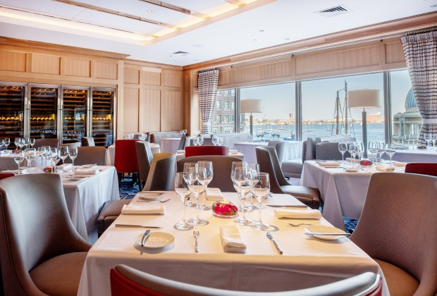 Let someone else prepare the turkey! Enjoy Thanksgiving at Boston Harbor Hotel's Meritage Restaurant. Photo courtesy of the hotel