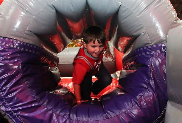 Come to Bounce U for open bounce, birthday parties and more. Photo by Meagan Newhart