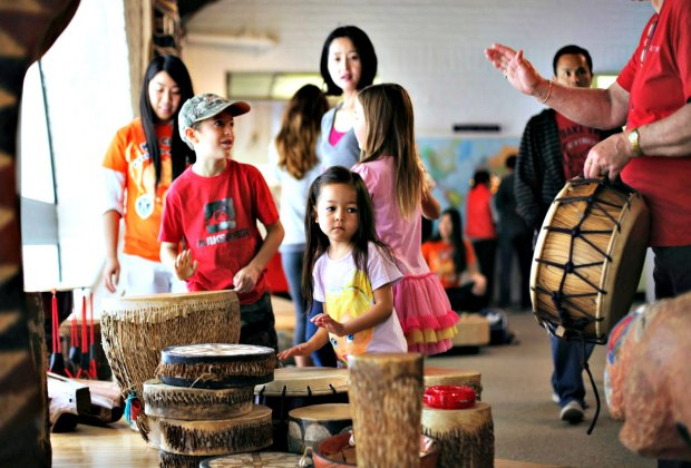 International Festival of Drums at Bowers Museum. Photo courtesy of the museum