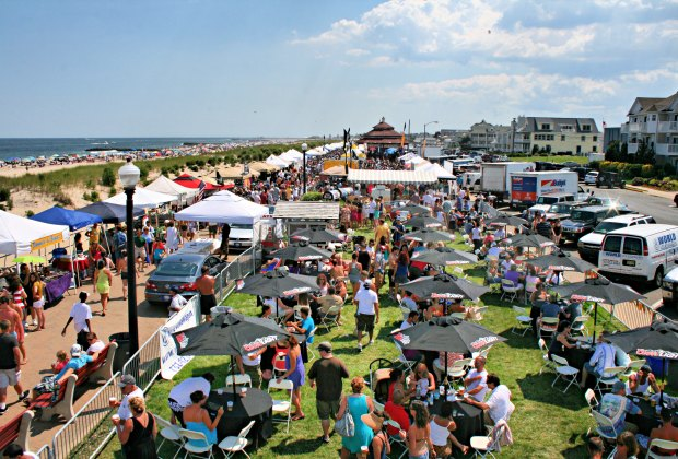 Enjoy free fun (and delicious seafood) at the Bradley Beach Lobsterfest. Photo courtesy of the festival