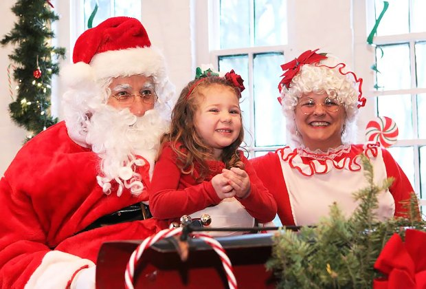 Liberty Hall hosts Breakfast with Santa on Sunday, December 16. Photo courtesy of the Liberty Hall Museum