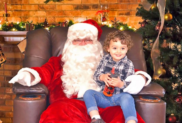 Meet Santa and support the Centereach Fire Department. Photo courtesy of the fire department