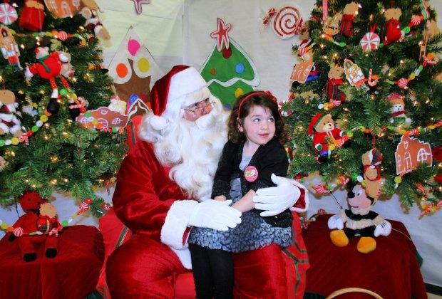 Breakfast with Santa. Photo courtesy of La Habra Children's Museum