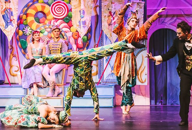 The free, one-hour version of the Nutcracker at Brookfield Place is colorful and kid-friendly. Photo courtesy of Brookfield Place
