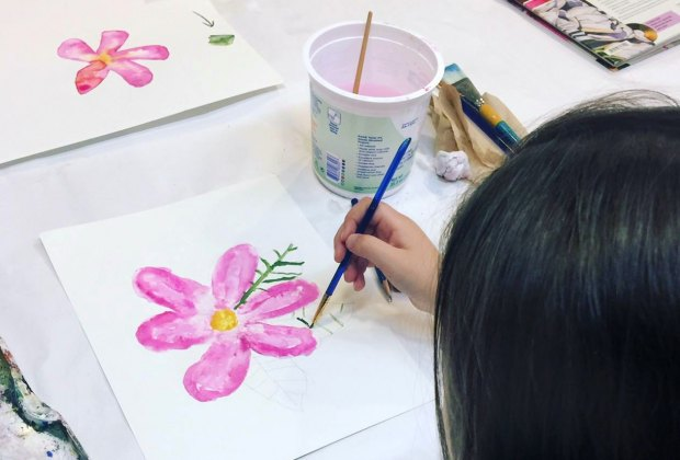 Summer Open House is a time to create. Photo courtesy of Brookline Arts Center