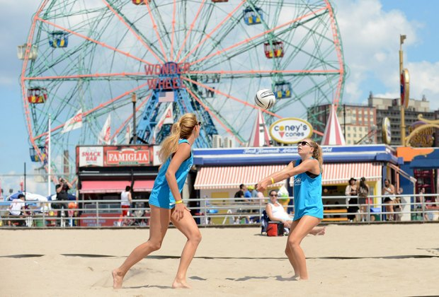 Hit the beach at Coney Island for the 5th Annual Brooklyn Beach Sports Festival. Photo courtesy of the event