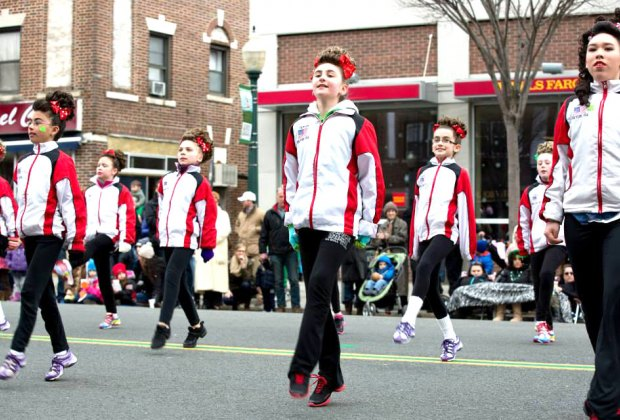 Catch the Irish spirit at the Sound Shore St. Patrick's Day Parade. Photo courtesy of the parade