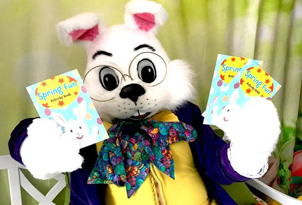 Meet the Easter Bunny and  grab a book at the Cross County Shopping Center. Courtesy of Cross County Shopping Center