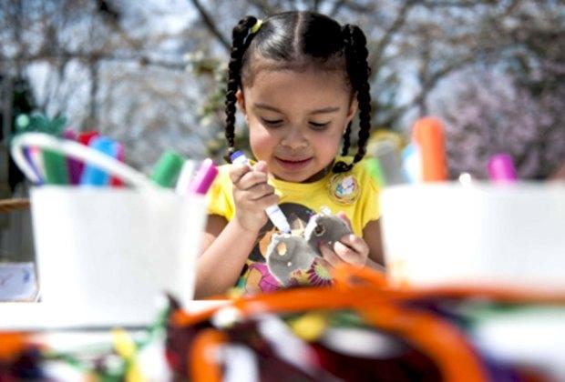 Camden Children's Garden offers free admission for children under 2.