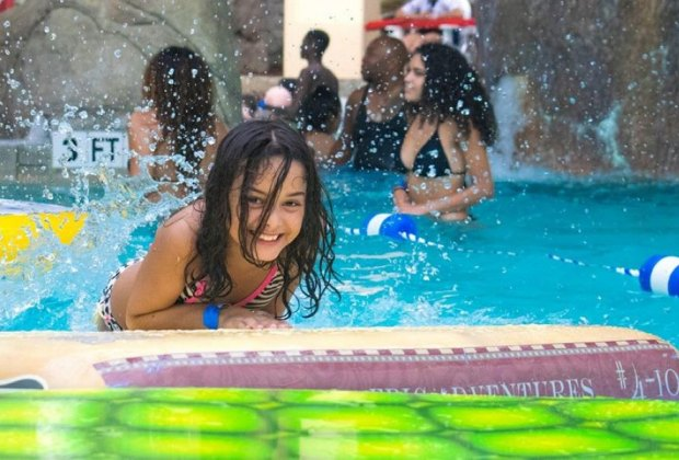 Enjoy some indoor water fun this spring break at Camelback Lodge in the Poconos.