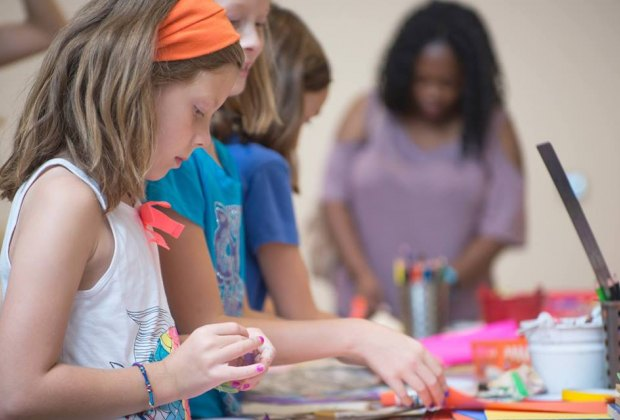 Experience art through hands-on activities./Photo courtesy of Contemporary Arts Museum Houston.