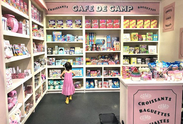 Cafe du Camp is a child's dream! Photo by Janet Bloom