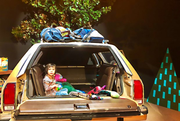 Pack up the station wagon and go camping. Photo by Janet Bloom