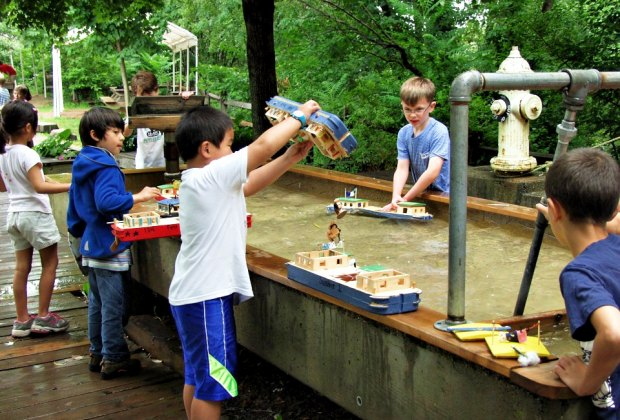 There's plenty of hands-on learning at the Eli Whitney Museum summer camps. Photo courtesy of the museum