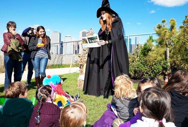 The Harvest Festival is always a season favorite at Brooklyn Bridge Park.  Photo courtesy if BBG