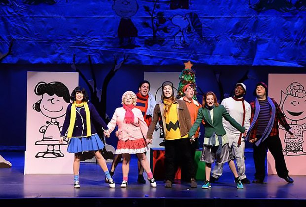 Charlie Brown and the gang come alive at the NYCB Theatre. Photo courtesy of the theater