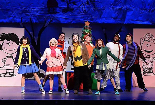 Learn the true meaning of the season at A Charlie Brown Christmas at the Patchogue Theatre. Photo courtesy of the theater