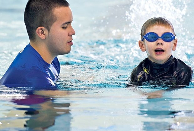 """Stroke """"discovery"""" classes are part of the progression-based swim program at Chelsea Piers."""