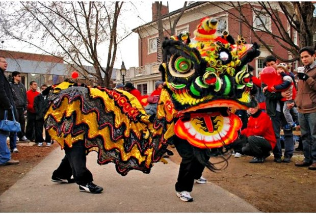 Celebrate the Chinese New Year in Harvard Square. Photo courtesy of Harvard Square Business Association