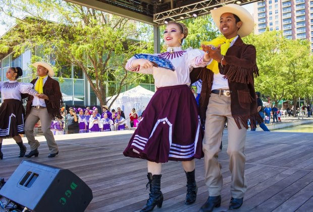 Celebrate Cinco de Mayo at Discovery Green with a special performance from Kinder HSPVA./Photo courtesy of Morris Malakoff, the CKP Group.