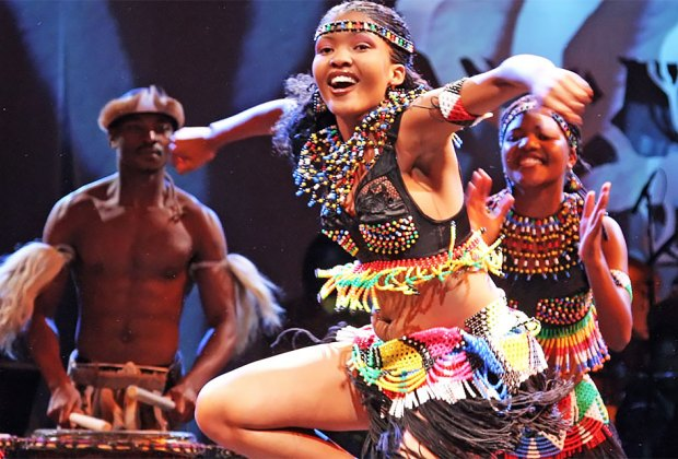 Cirque Zuma Zuma, an African-style Cirque du Soleil, will perform in Valhalla. Photo courtesy of the production