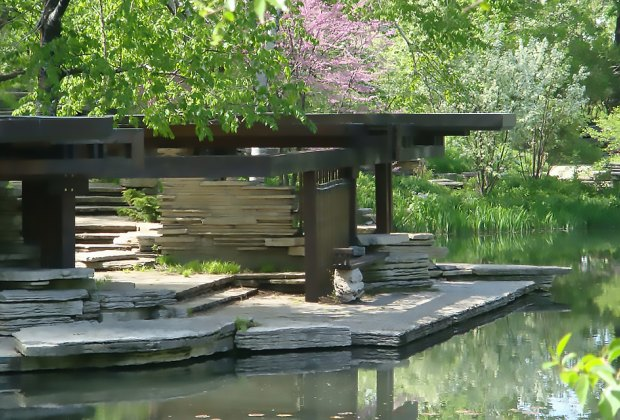 Things To Do with Chicago Kids Over Spring Break: Alfred Caldwell Lily Pond