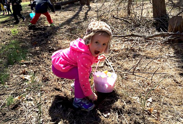 Clay Pit Ponds Easter Hunt will have kids beaming with pride! Photo courtesy of the preserve
