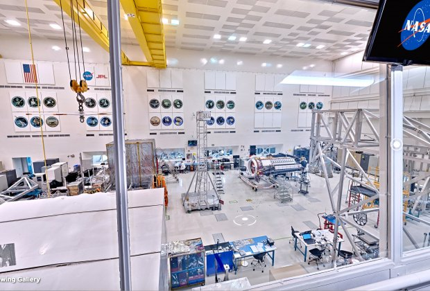 NASA's JPL Tours are Now Online: view the clean room where rockets are built